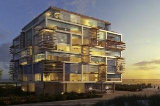 Dieser Entwurf zeigt das von Architekt Matteo Thun geplante Resort auf der Ostseeinsel Fehmarn.