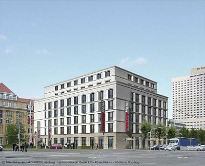Intercity Hotelprojekt in Leipzig