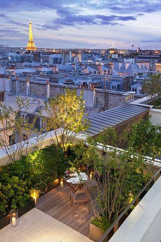 Mandarin Oriental Paris - Terrasse