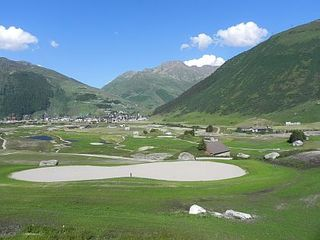 Andermatt Swiss Alps - Golfplatz - 1