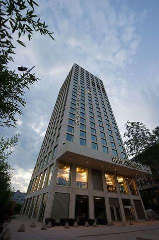 Renaissance Zürich Tower Hotel - Fassade - b