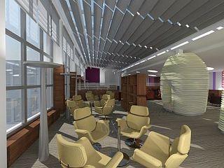 Executive Lounge at Hilton Frankfurt Airport