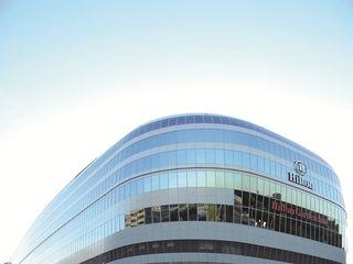 Hilton und Hilton Garden Inn Frankfurt Airport_Outsideview
