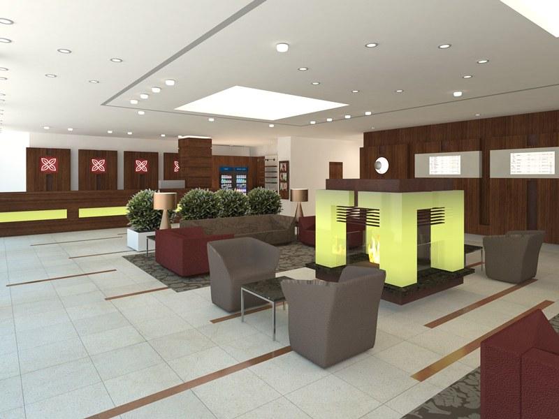 Lobby Hilton Garden Inn Frankfurt Airport_Lobby