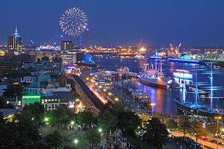 Hamburg Hafen  - C. Spahrbier