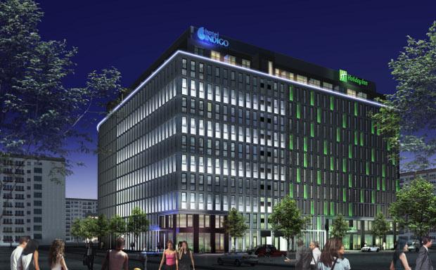 Hotel Indigo Alexanderplatz - Außenansicht
