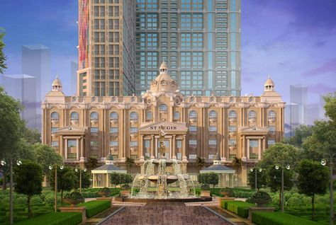 241-key St Regis Dubai