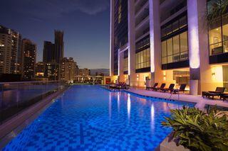 Pool im Hard Rock Hotel Panama Megapolis