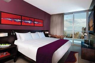 Eines von 1500 Zimmern im Hard Rock Hotel Panama Megapolis