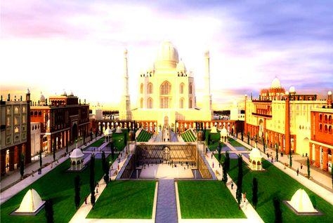 Land of India and the Taj Arabia, in Falcon City of Wonders