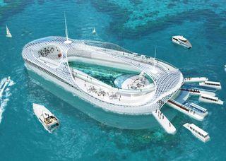 Submarine Hotel Hainan China