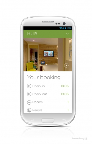 Hub by Premier Inn - App Room Control