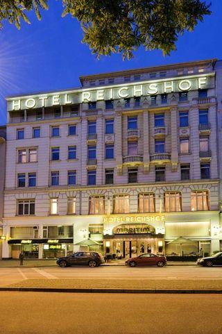 Maritim Hotel Reichshof Hamburg - Fassade