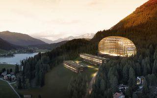 InterContinental Davos - Hotel Exterior