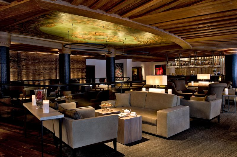 The Alpina Gstaad Lounge